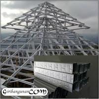 rangka atap baja ringan yang paling bagus harga semua ukuran baru ...
