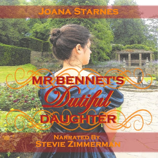 Audio book cover: Mr Bennet's Dutiful Daughter by Joana Starnes