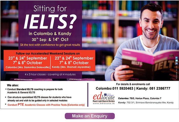 edlocate | Get a great IELTS score on the 30th September OR 14th October Exam.