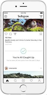 Trik Cara mengetahui ketika tidak ada foto baru untuk dilihat di instagram