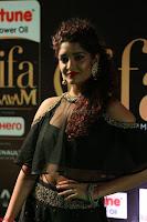 Ritika Singh in a Ethnic Deep Neck Dark Green Choli Ghagra at IIFA Utsavam Awards March 2017 ~ 036.JPG