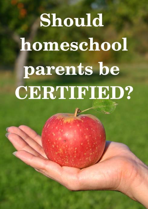 Imaginative Homeschool: Should Homeschool Parents Be Certified ...