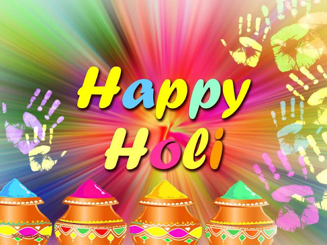 Free Holi Wallpaper for Facebook
