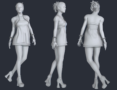 Amethyst Outfit for Genesis 3 Female