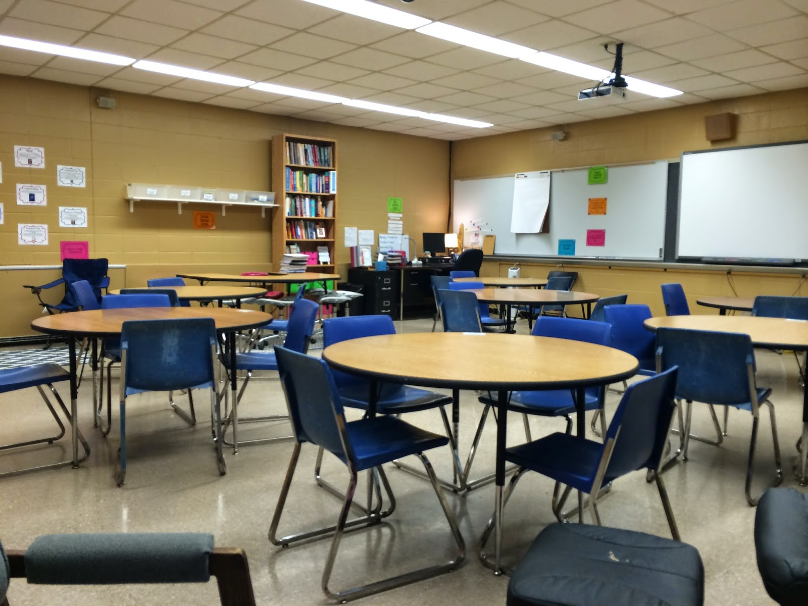 School Classroom Design Guide ~ Middle school teacher to literacy coach organizing a