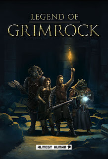 Legend of Grimrock+pc+game+art+cover+roll game+old school+retro+rgp