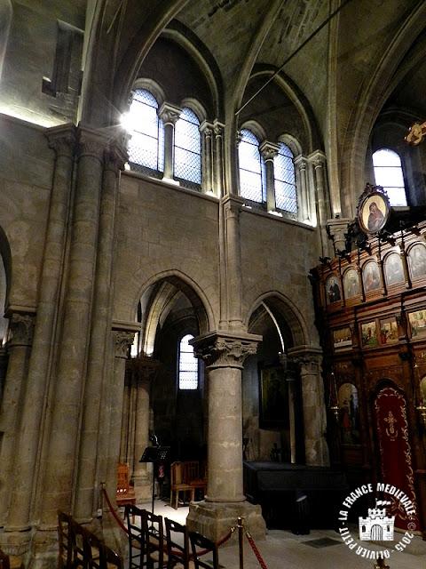 PARIS (75) - Eglise Saint-Julien-le-Pauvre (XIe-XIXe siècle)
