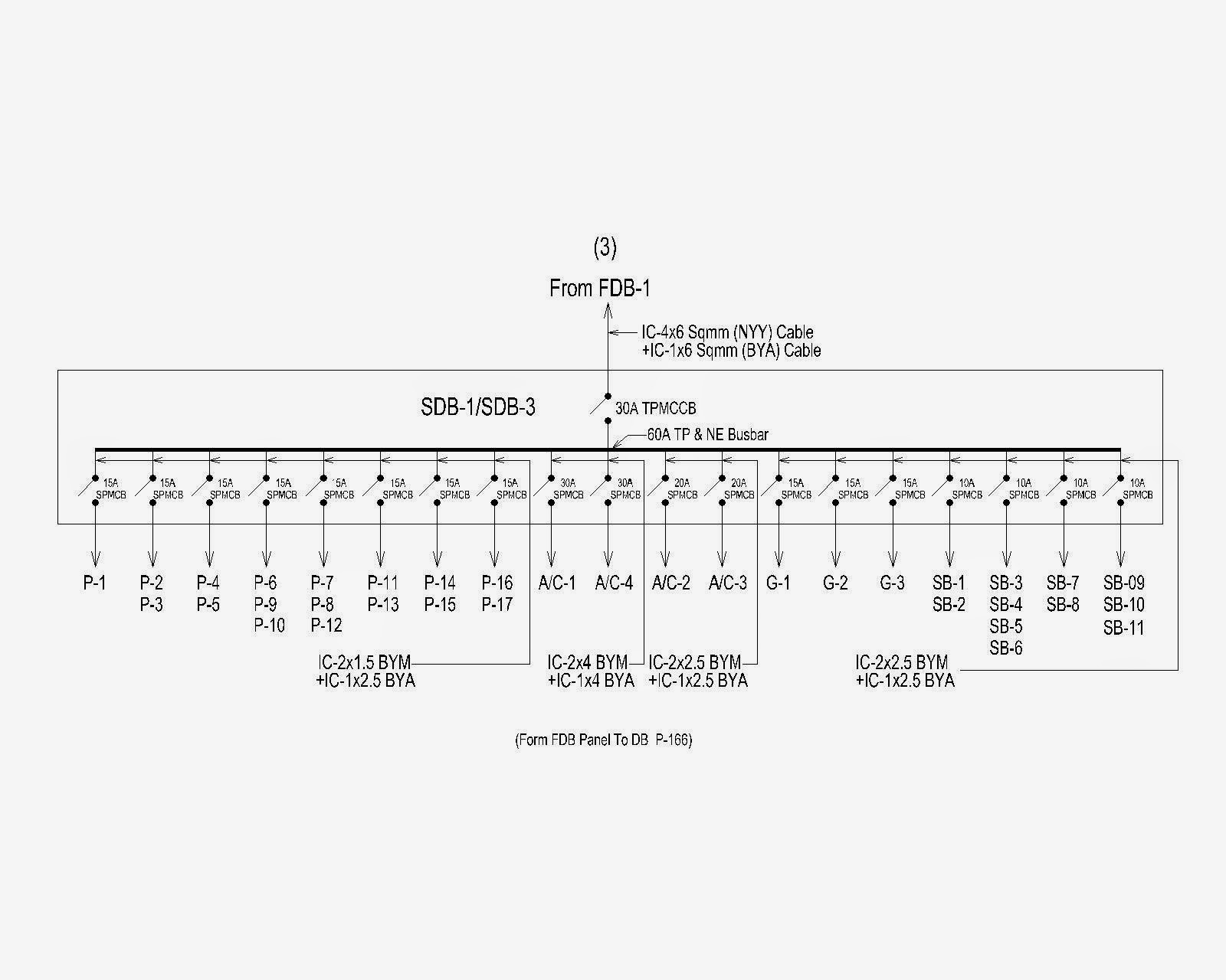 medium resolution of electrical materials single line diagram from lt panel to other diagram 8 single line diagram of main db