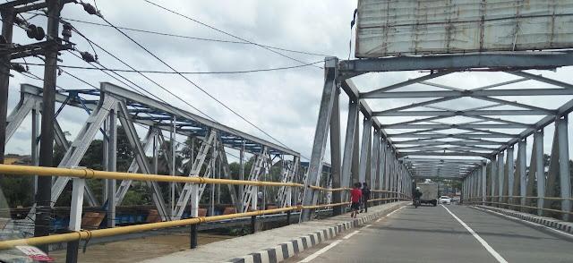 Jembatan Kereta Api Maut di Rangkasbitung