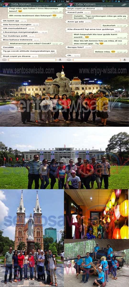 Group Tour Sentosa Wisata Chi Minh Vietnam