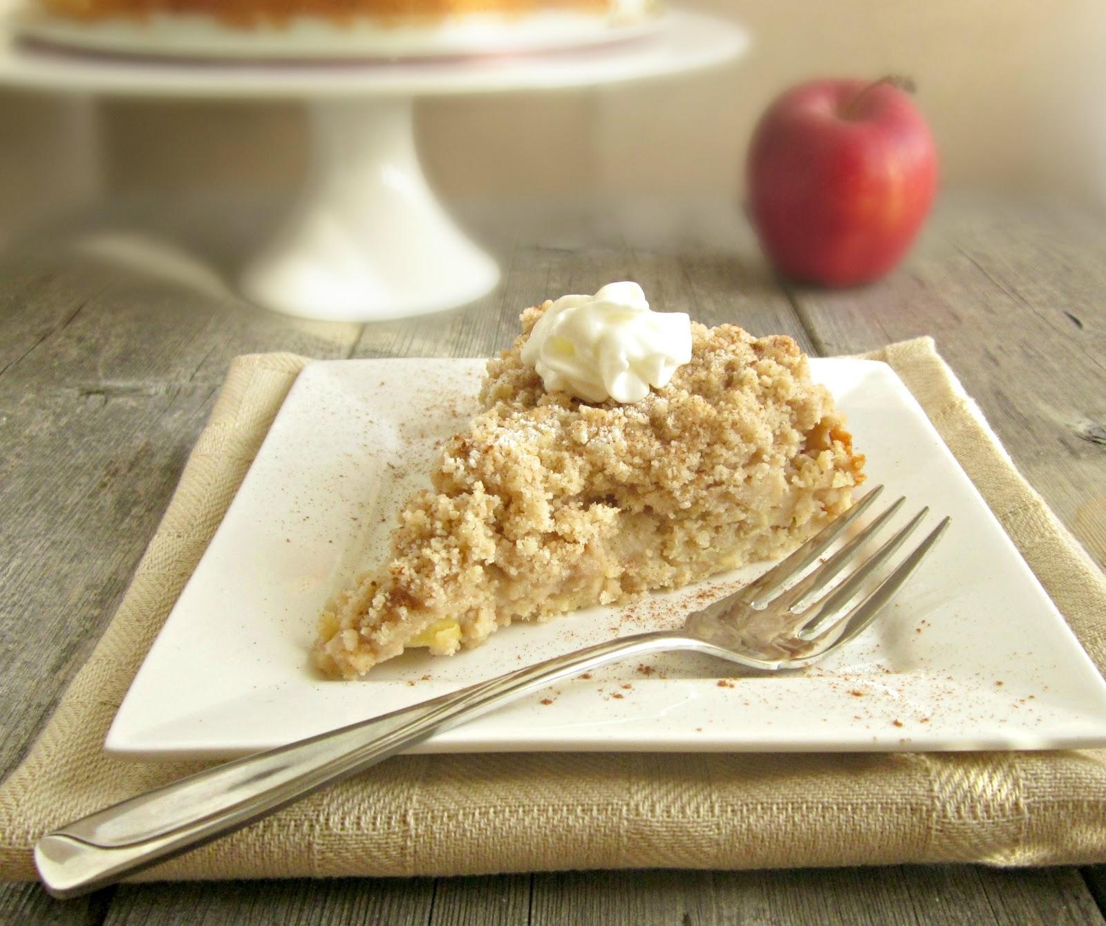 Hungry Couple Cinnamon Apple Crumb Cake