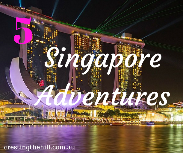 Five fun things to do in Singapore