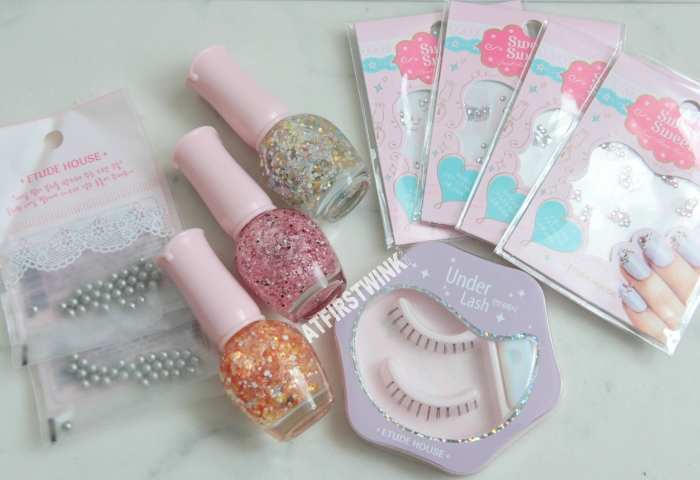 Etude House Nail products purchases