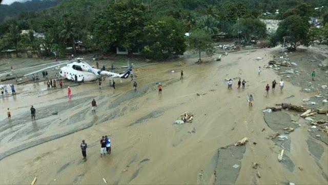 Kementerian Perhubungan : Bandara Sentani kembali normal usai banjir bandang