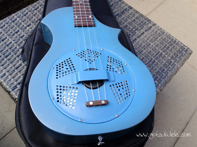 Beltona Tenor Resonator Ukulele body