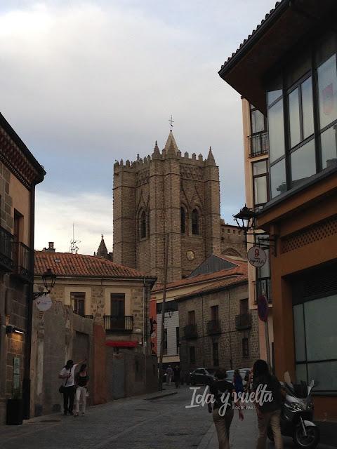 La torre de la Catedral de Ávila