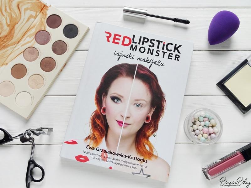 Tajniki makijażu Red Lipstick Monster, książka o makijażu, książka dla dziewczyny, książka dla kobiety, poradnik makijażowy