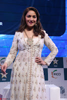 Madhuri Dixit Nene in designer Anarkali Dress at FICCI Awards 2017 008.JPG