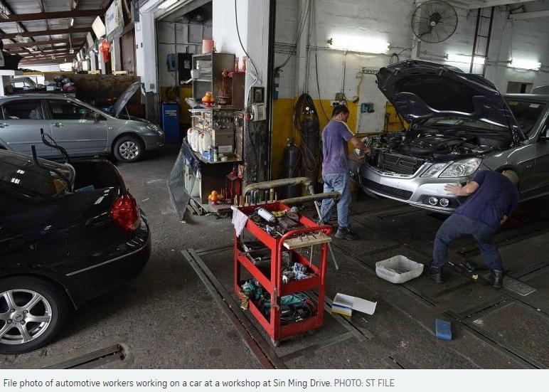 Mazda Car Repair Singapore
