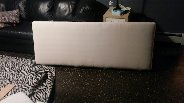 upholster bed diy