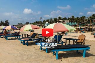 Benaulim Beach in Goa Indien WELTREISE.TV Arkadij aus Bremerhaven auf Weltreise
