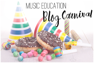 Read the latest post on the Music Education Blog Carnival!  Seven great post about music education!