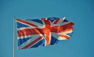 foto di bandiera inglese