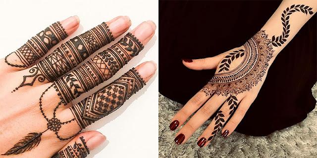 Finger Mehndi Design New 2019