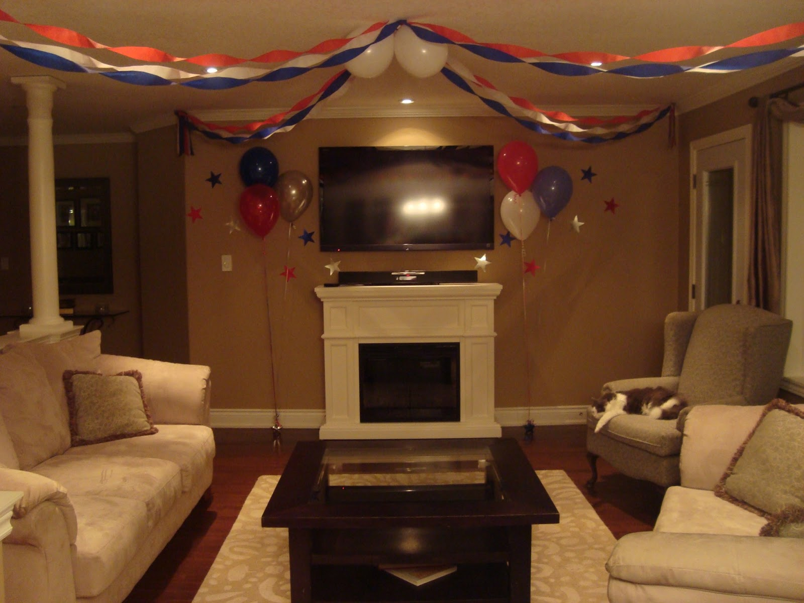 Vesna S Party Blog Super Bowl Party Decorating Tips