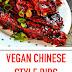 Vegan Chinese Style Ribs