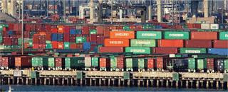 Shipping Containers at Port - Source: Department of Transportation