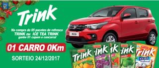 Promoção Trink Sucos 2017 Fluminense Supermercados Natal Carro 0KM