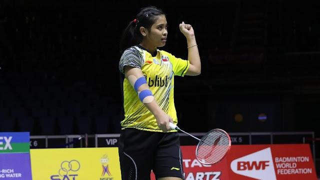 Gregoria Mariska Janjikan Kejutan di Indonesia Open 2018