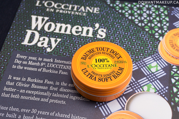 L'Occitane Ultra Soft Balm for International Women's Day