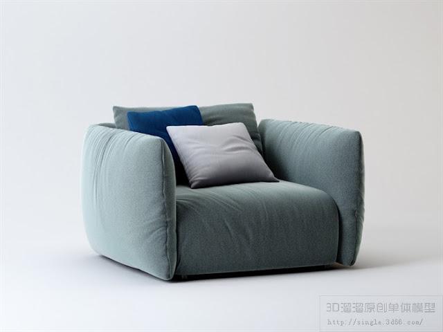 [3D Model Free] Sofa 1