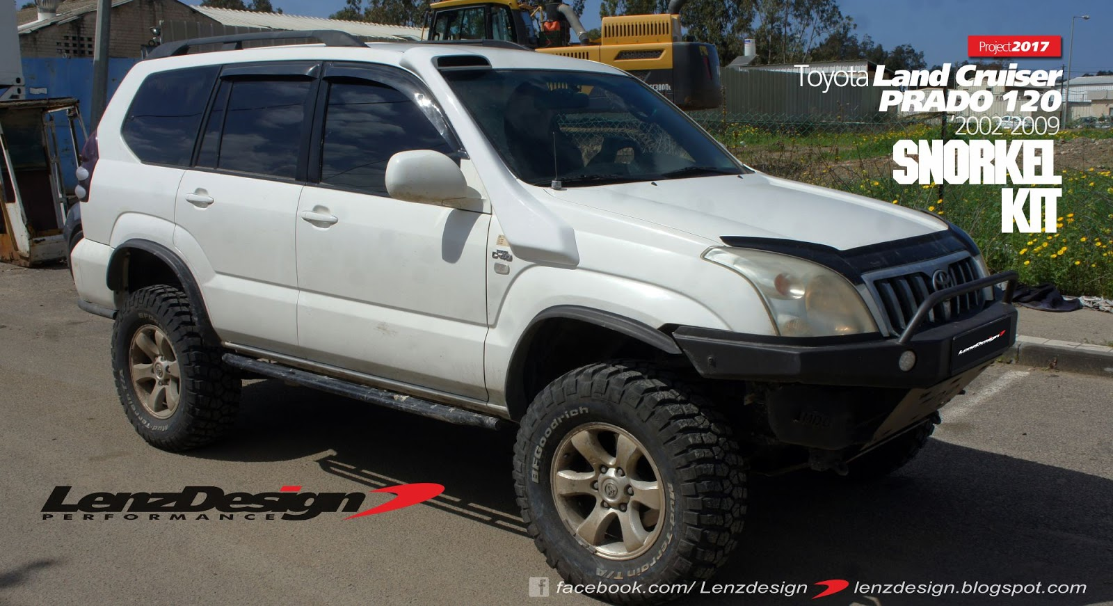 Toyota Land Cruiser Prado 120 Lexus Gx 470 Snorkel Kit Lenzdesign Manufactured From Vacuum Frp Unpainted We Ship Woldwide Questions Please Contact Us For Details Lenzdesignautogmailcom