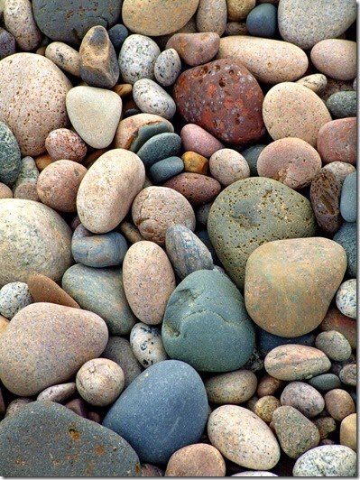 Restless Minds Art With Beach Stones