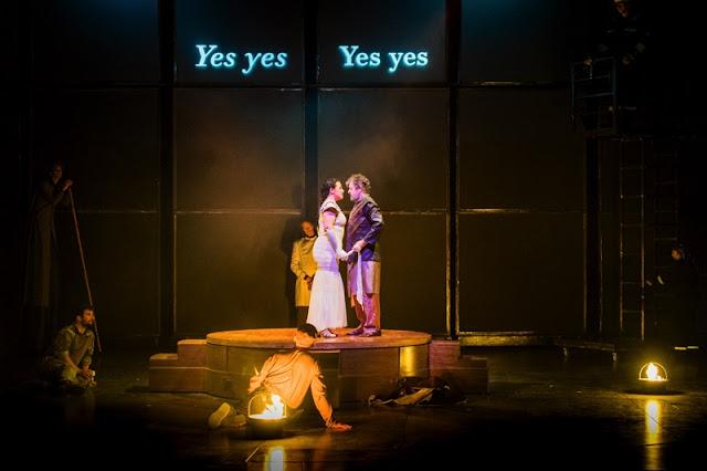 Monteverdi: Il ritorno d'Ulisse in patria - The Grange Festival - Anna Bonitatibus, Paul Nilon (photo Robert Workman)