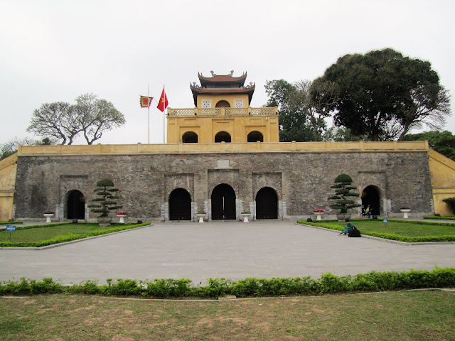 imperial city hanoi vietnam