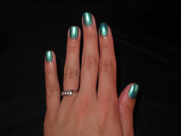 nail design revlon - ocean breeze