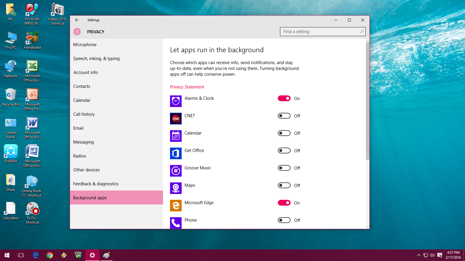 Learn New Things How to Turn off Background Running Apps in ...