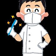 歯医者さんのイラスト(職業)