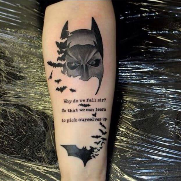 Batman Tattoos Designs Ideas And Meaning: 195+ Best Tattoos For Girls With Meaning (2018