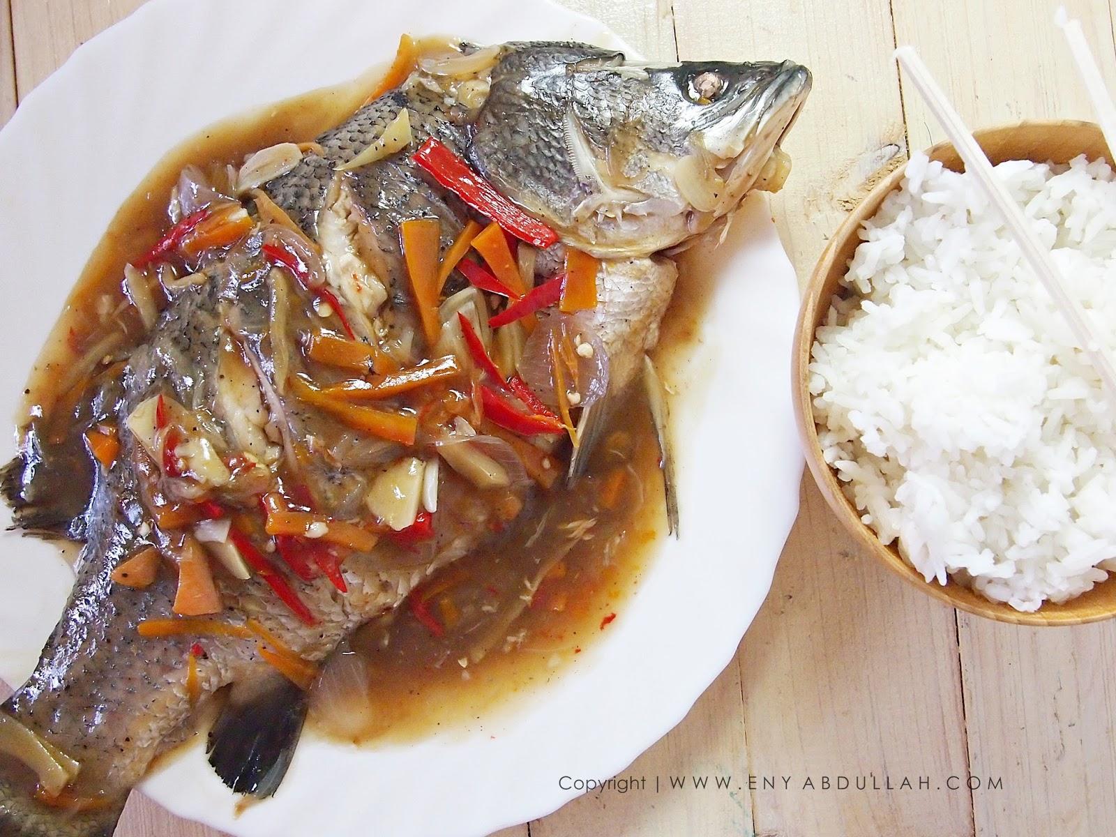 kukus ikan  mudah Resepi Ikan Gerut Masak Stim Enak dan Mudah
