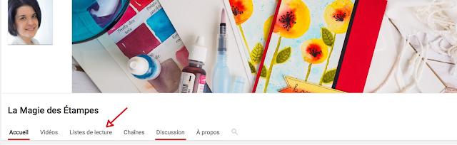 chaîne YouTube Marika Lemay la magie des étampes