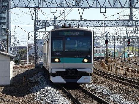 【ダイヤ改正で新登場!】E233系の各駅停車 向ヶ丘遊園行き