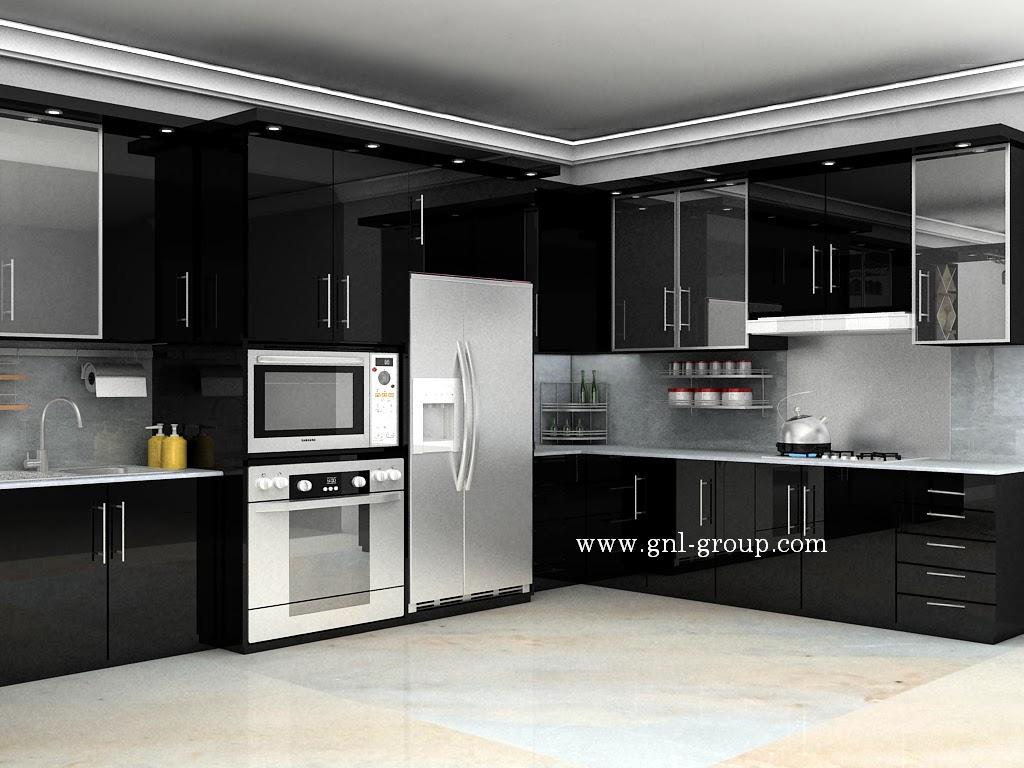 Harga  70 Model Gambar Kitchen Set Minimalis
