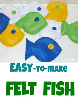 How to Make Easy Felt Fish