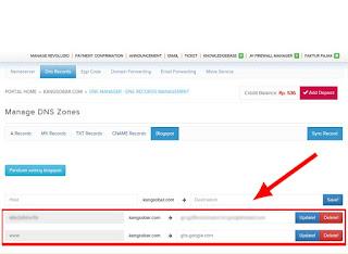 Cara ganti domain blogspot di jagoanhosting untuk pemula, dashboard blogspot menjadi custom domain berakhiran dot com