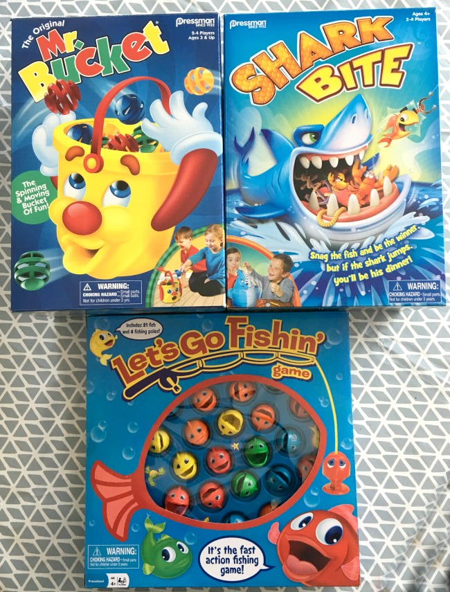 Shark-Bite-Lets-Go-Fishing-and-Mr-Bucket-goliath-games-Toy-Review